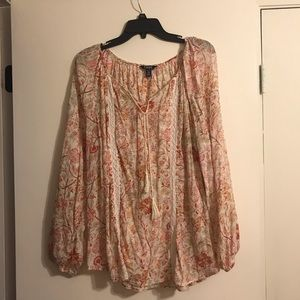 Chaps tunic style top